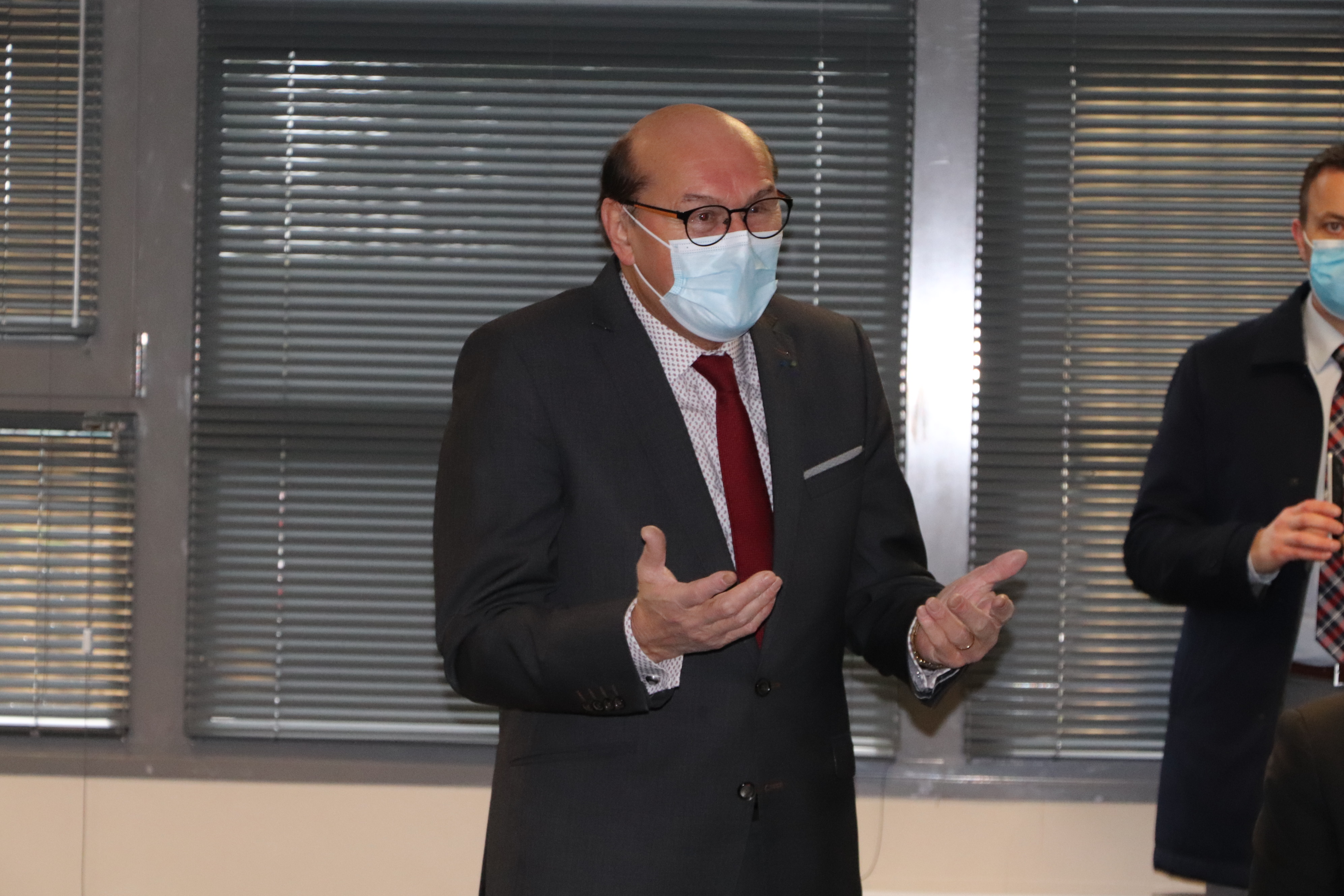 aniel Delahaye directeur de la coop Isigny