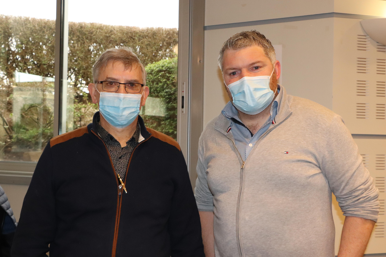 Alain Legentil et Jonathan Lenourichel